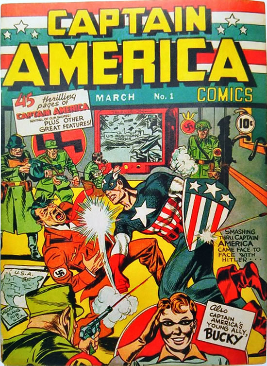 Captain America Comics #1, Timely, 1941